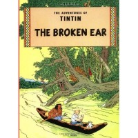 The Broken Ear (The Adventures of Tintin 6)